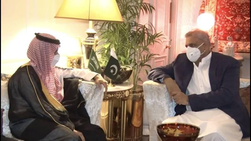 Pakistan Army Chief , Saudi FM discuss Afghan peace process, bilateral ties: ISPR