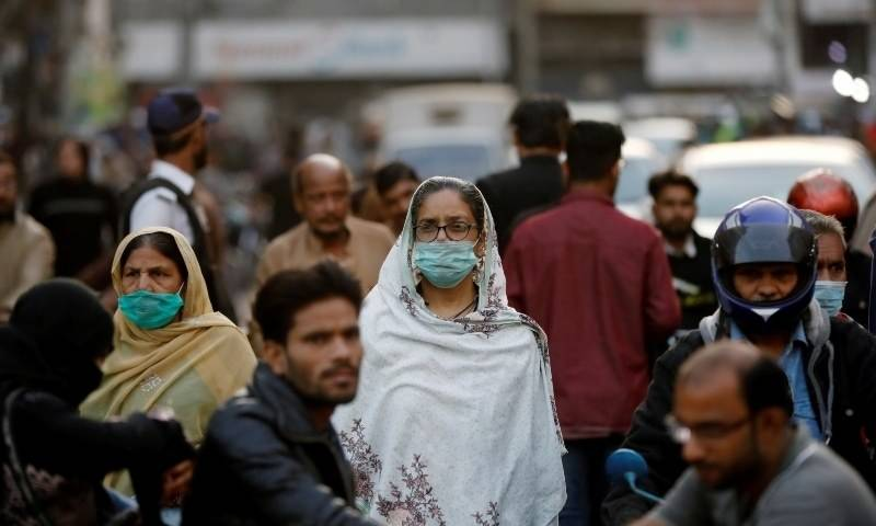 Pakistan reports highest daily Covid cases in two months, positivity ratio soars to nearly 8pc