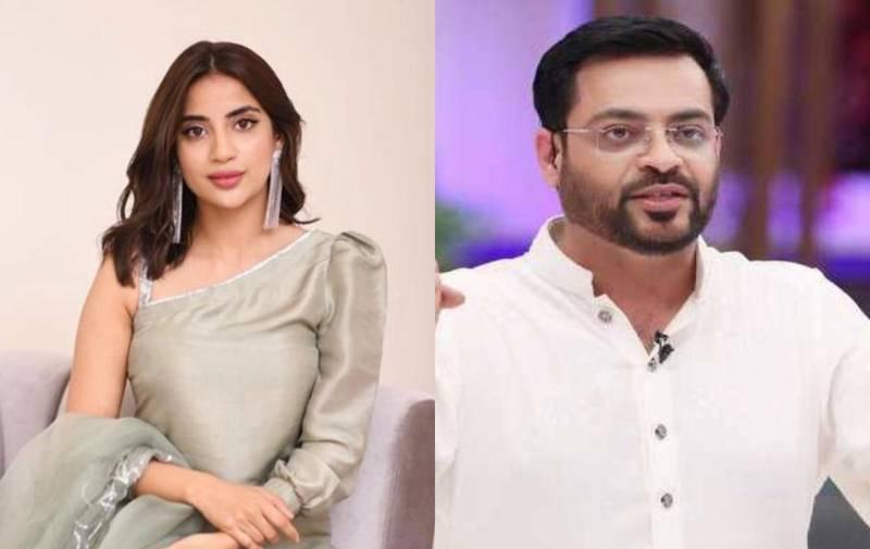 Saboor Aly leaves Aamir Liaquat speechless in new viral video