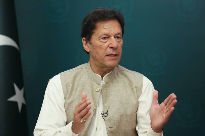 PM Imran names man who 'offered bribe' for withdrawal of Panama Papers case against Nawaz Sharif