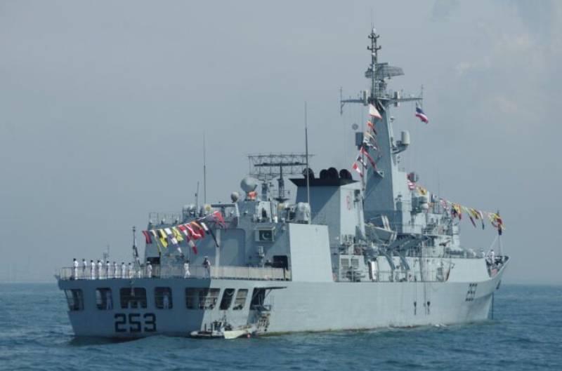 Pakistan Navy ship Zulfiquar returns after participating in Russian Navy Day Parade