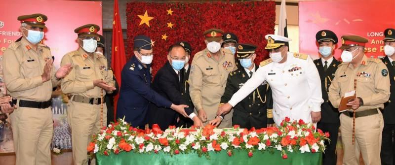 Pakistani military celebrates PLA's 94th foundation anniversary at GHQ (VIDEO)