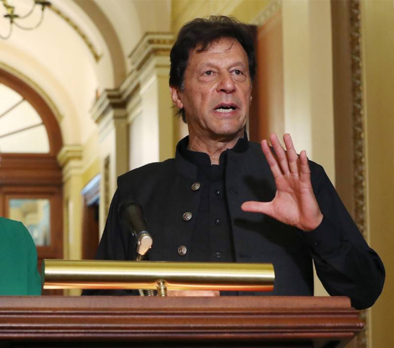 PM Imran rules out India's role in Afghan peace process
