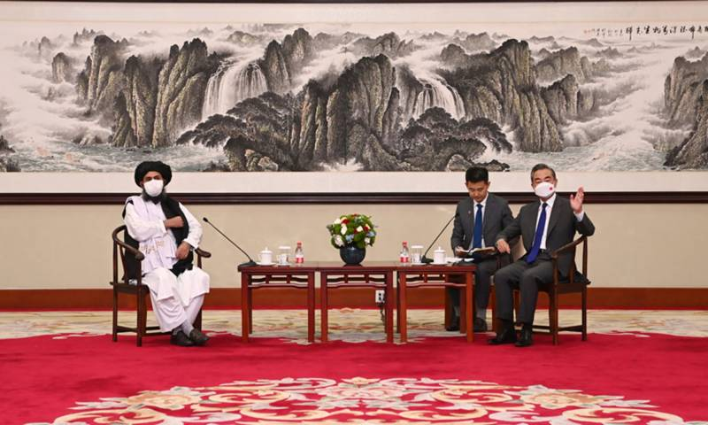 Taliban, China promise not to interfere in each other's affairs