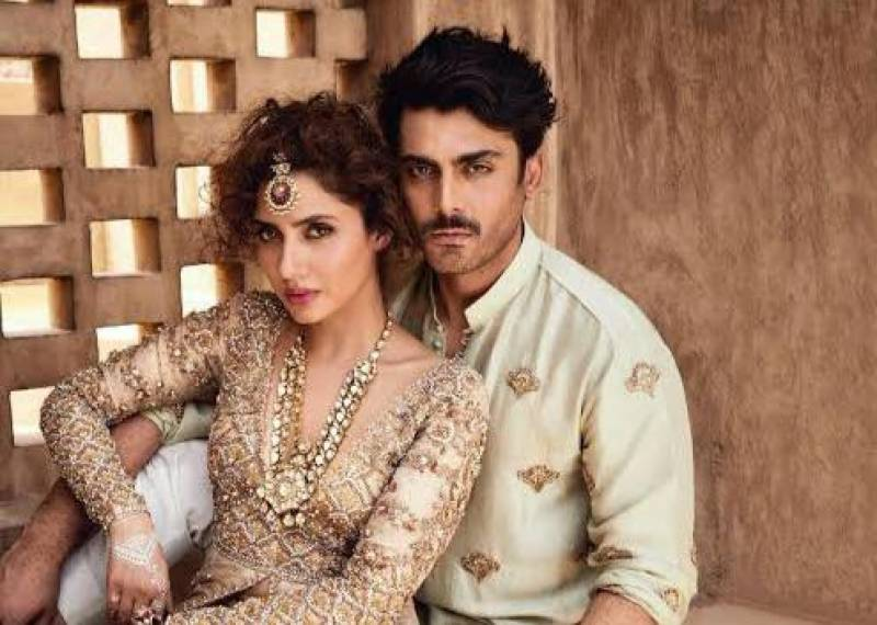 Mahira Khan, Fawad Khan win hearts with adorable BTS photos from 'Neelofar'