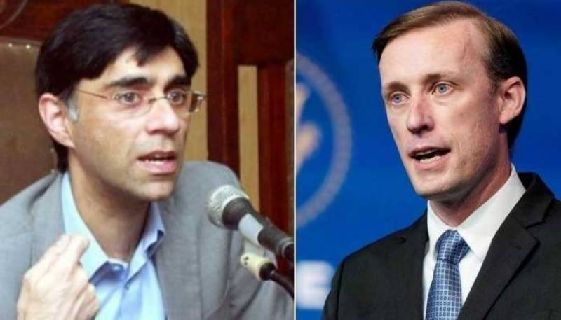 Pakistan, US discuss Afghanistan situation
