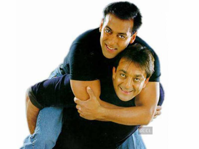 Salman Khan wishes Sanjay Dutt on his birthday with a throwback picture