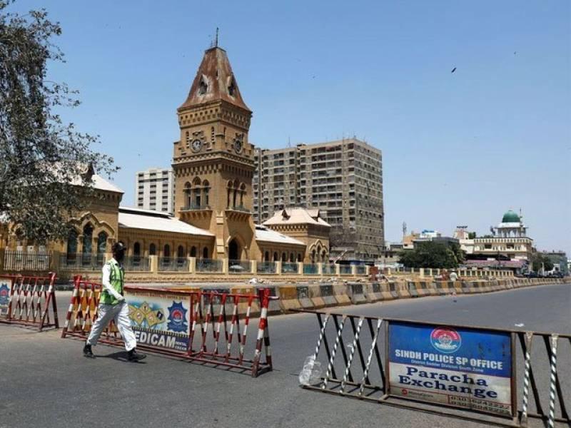 Sindh govt imposes lockdown in Karachi to stem spread of Covid-19