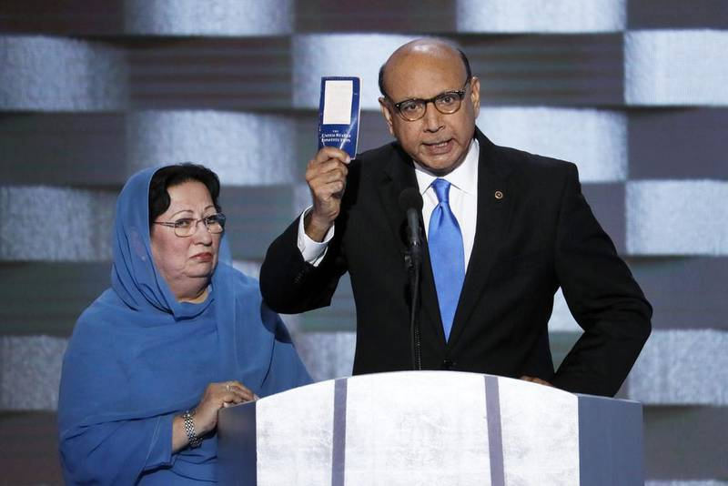 Pakistani-American Khizr Khan to head top religious freedom body in US