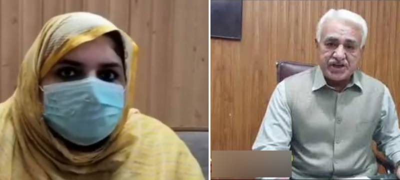 KP doctor alleges harassment by MS of Charsadda DHQ (VIDEO)
