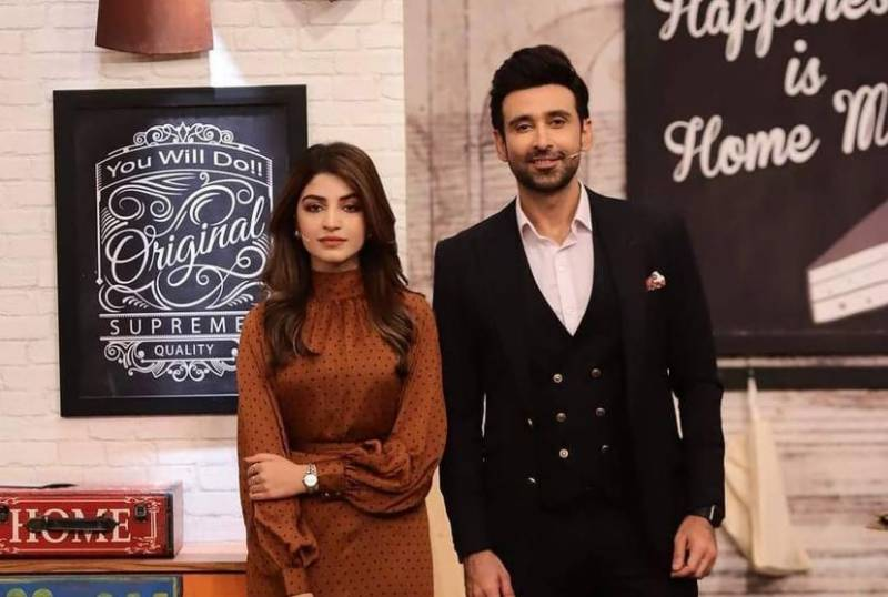 Kinza Hashmi and Sami Khan's dance video takes internet by storm
