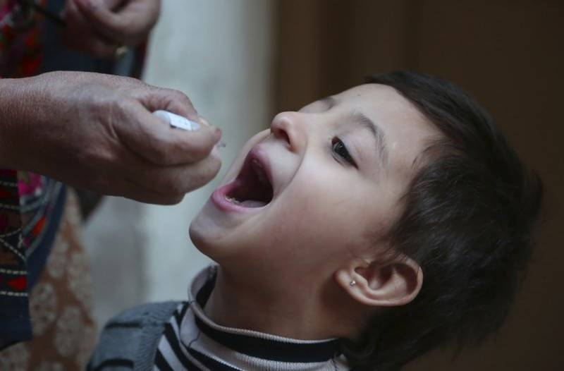Over 23mn children to be vaccinated against polio in nationwide campaign