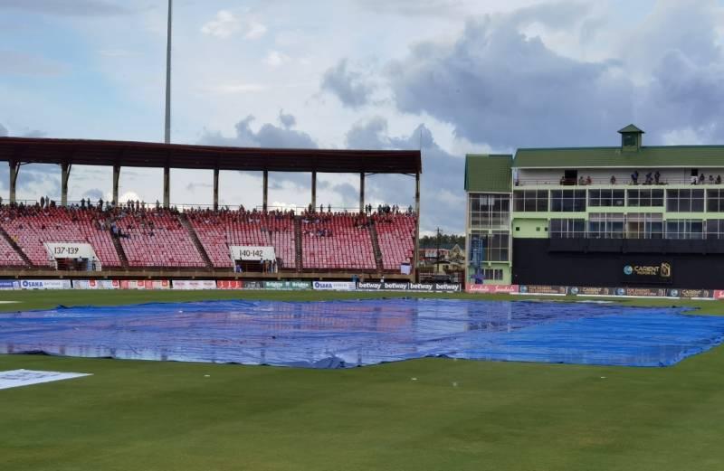 PAKvWI: Rain frustrates Pakistan's bid to win West Indies T20I series