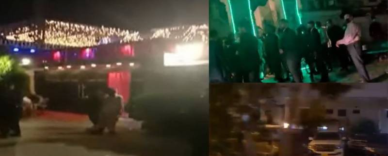 WATCH: COVID SOPs go for a toss at PTI MNA daughter's big fat wedding in Karachi