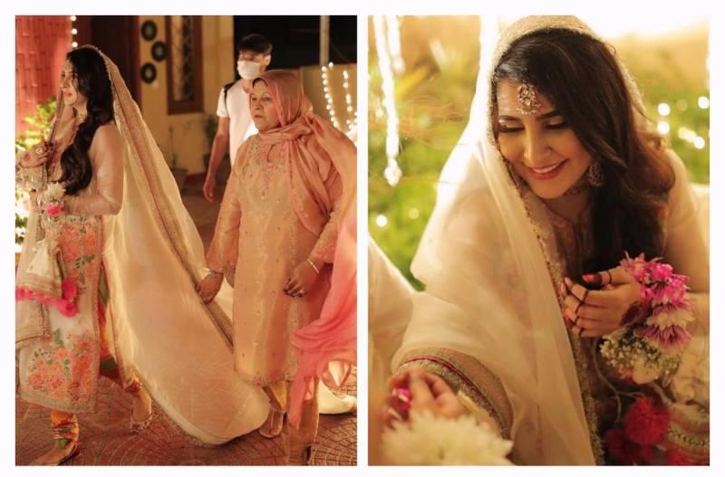 Areeba Habib's beautiful pictures from her 'Baat Pakki' win hearts