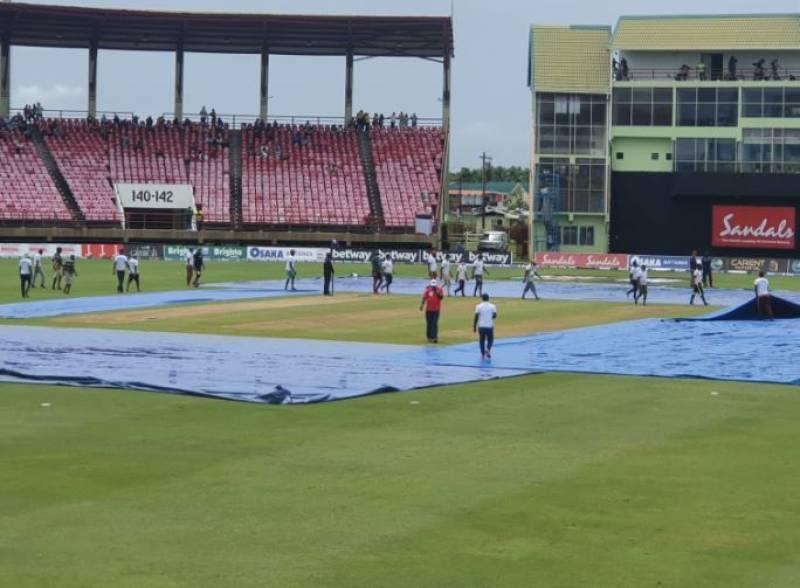 PAKvWI: Pakistan win series against Windies as final T20I rained-off