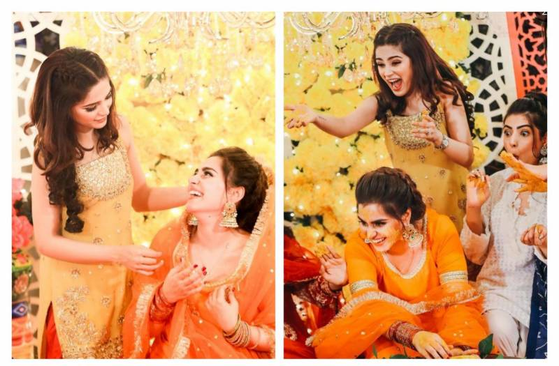 Aima Baig dances her heart out on sister's mayoun (VIDEO)