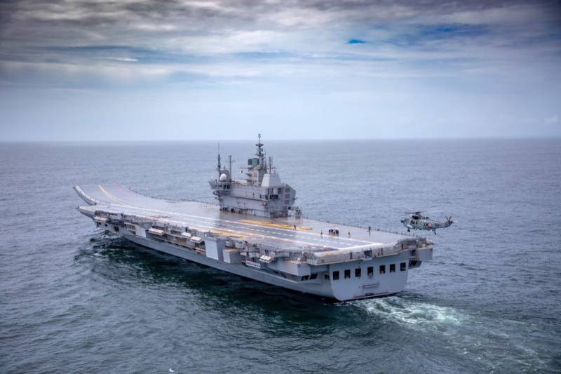 INS Vikrant: India's first indigenous aircraft carrier begins sea trials (VIDEO)