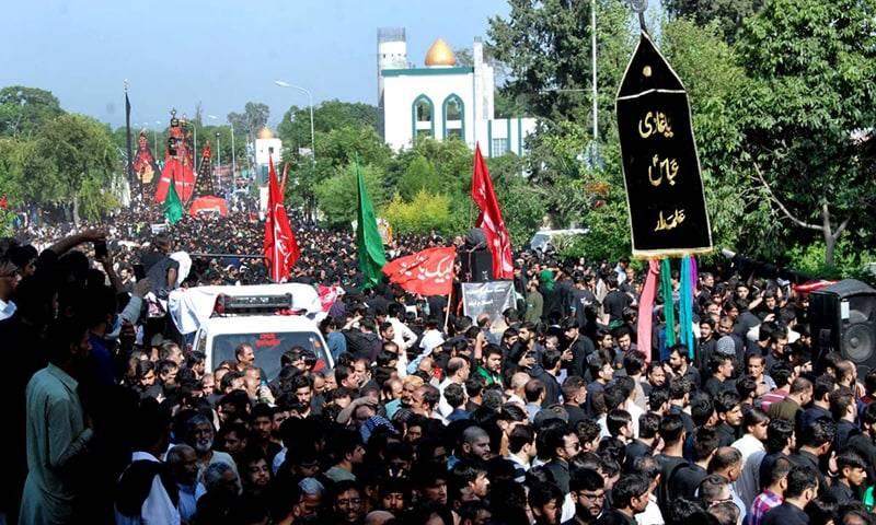 Strict SOPs issued for Ashura processions, majalis amid COVID resurgence