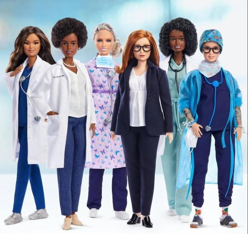 Barbie debuts dolls in honour of real-life pandemic heroes