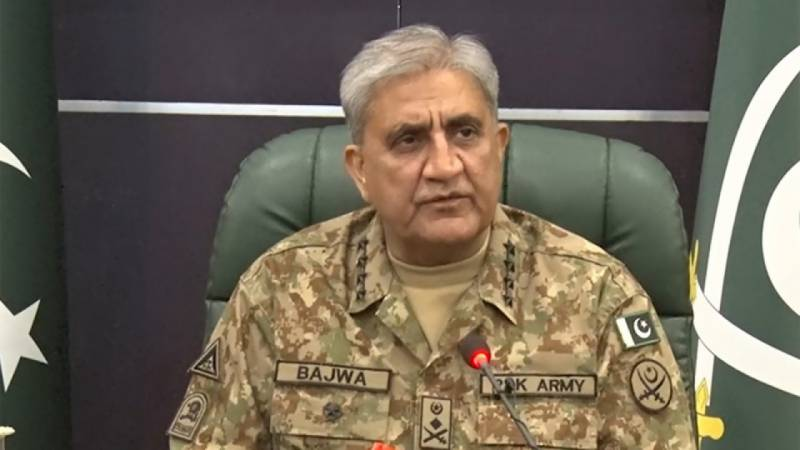 Pakistan Army Chief calls for resolution of Kashmir dispute as per the aspirations of Kashmiris