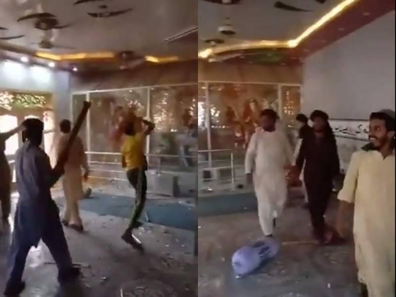PM Imran, CJP Gulzar take notice of mob attack on Hindu temple in RYK
