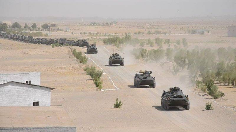 Russia and neighbours begin military drills on Afghanistan border