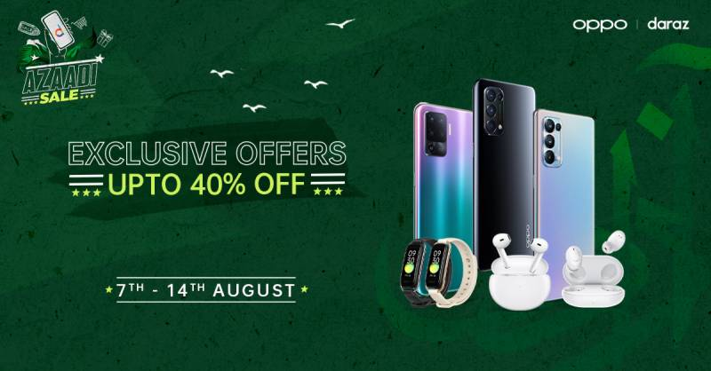 OPPO offers Azaadi sale to celebrate Independence Day