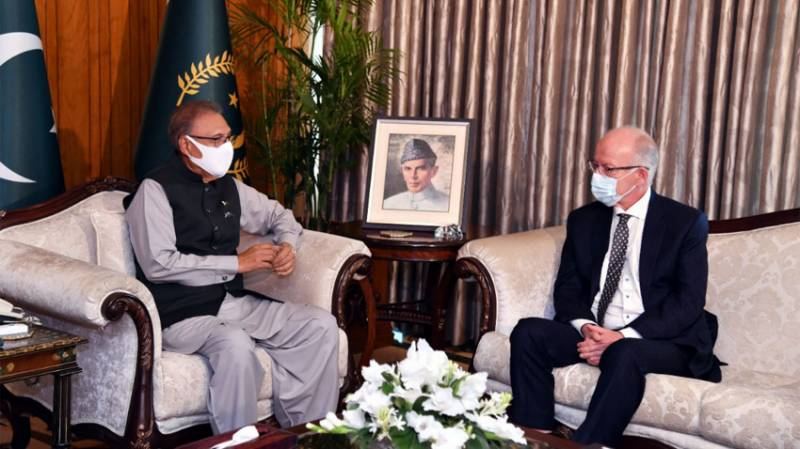 President Alvi vows to enhance economic, cultural ties with Norway