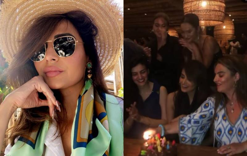 Supermodel Mehreen Syed celebrates birthday in Greece