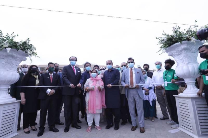 COVID-19: HBL Drive-Through Vaccination Facility opens at Karachi stadium