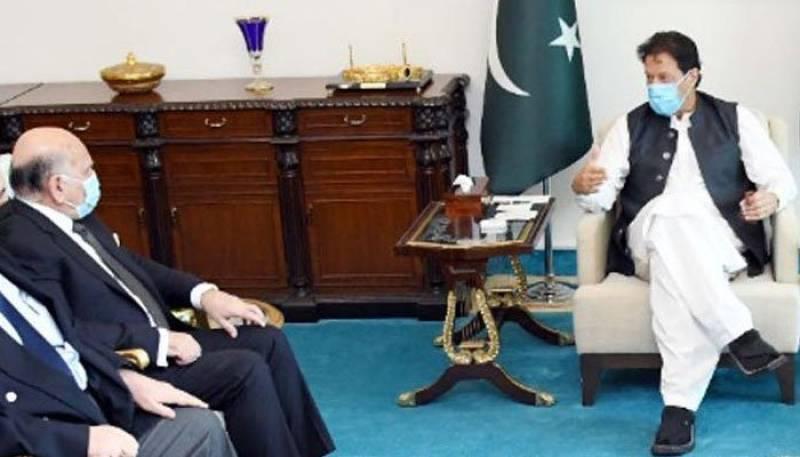 Pakistan wants to enhance ties with Iraq: PM Imran