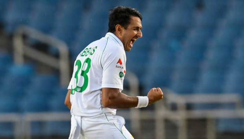 PAKvWI – Mohammad Abbas rattles West Indies after Pakistan fold for 217