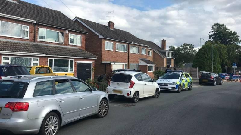 Police officer, child found dead in UK's Kidderminster area