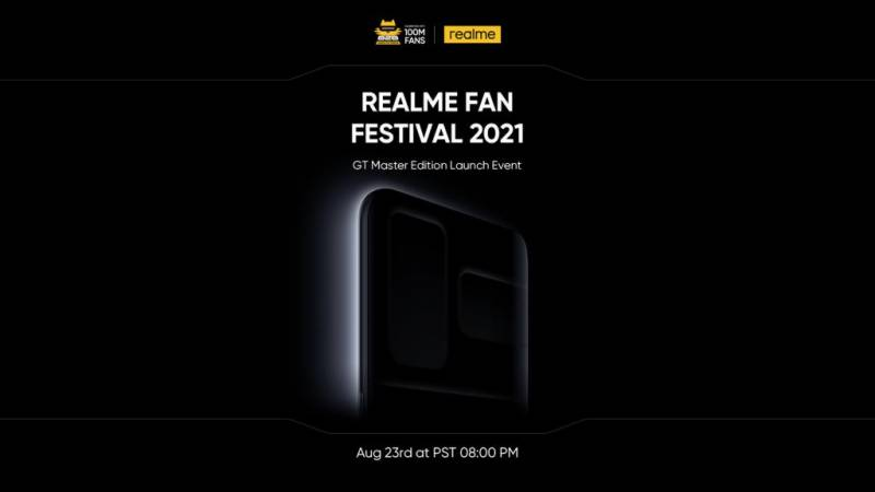 realme to launch 100M sales milestone product GT Master Edition Series and other product lines on 23rd