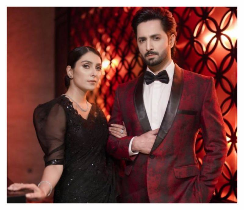 Ayeza Khan and Danish Taimoor celebrate 7 years of marriage