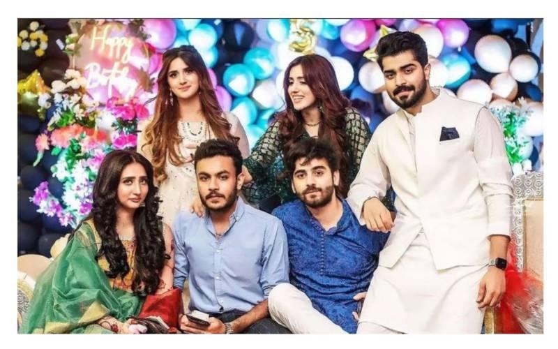 TikTok stars Jannat Mirza and Alishba Anjum celebrate sister's engagement