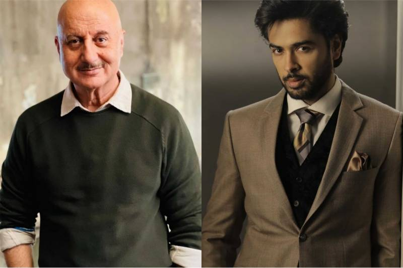 Shehzad Roy politely corrects Anupam Kher over viral video claim