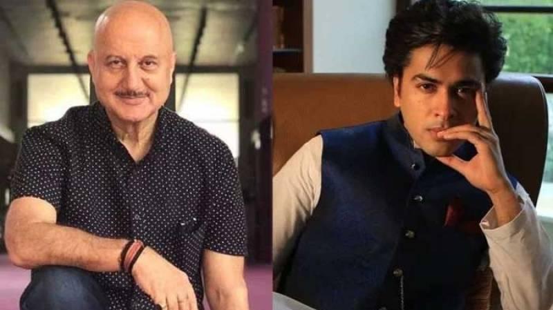 'I stand corrected my friend,' Anupam Kher tells Shehzad Roy