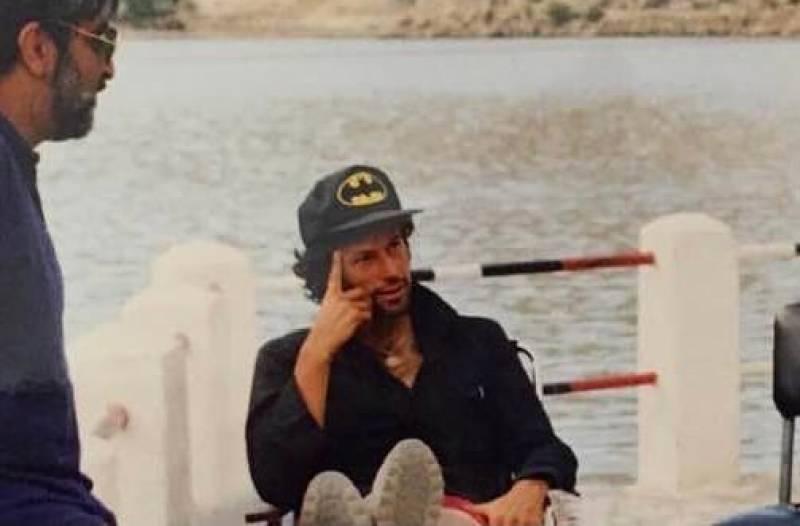 PM Imran Khan shares 32 years old photo on social media
