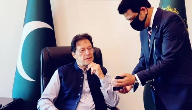 PM Imran launches NADRA's 'Pak-ID' mobile app