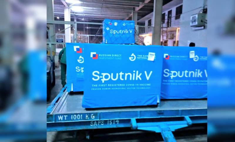 First consignment of Russia's Sputnik-V covid vaccine arrives in Pakistan