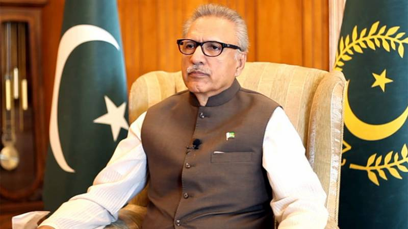 President Alvi signs ordinance limiting time duration for MPs oath taking