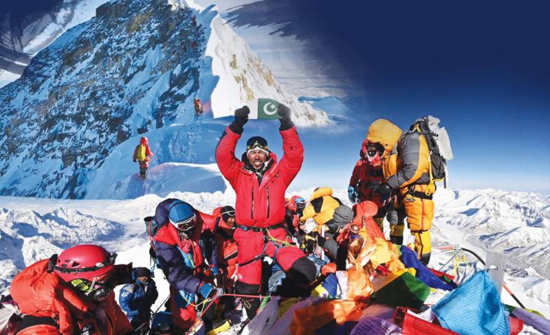 Pakistan's Sirbaz Khan all set to scale ninth of the world's 14 highest peaks