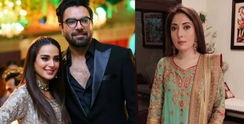 Yasir Hussain gives scathing reply to Sharmila Faruqui for schooling Iqra Aziz