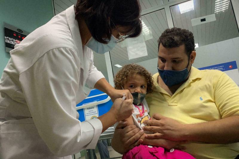 Cuba becomes world's first country to vaccinate toddlers against Covid-19