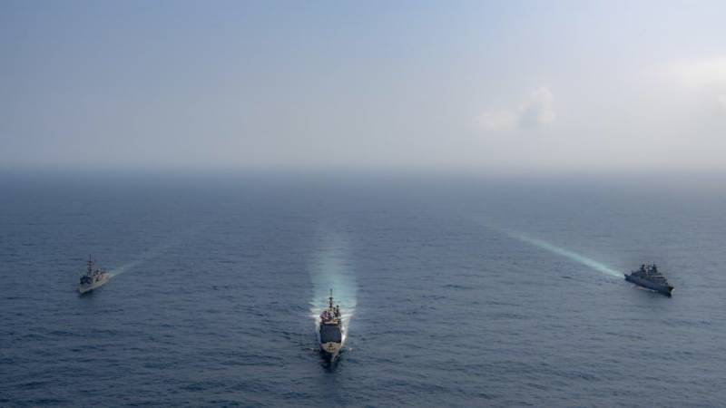 Pakistan, Germany and US hold trilateral naval exercise in Arabian Sea