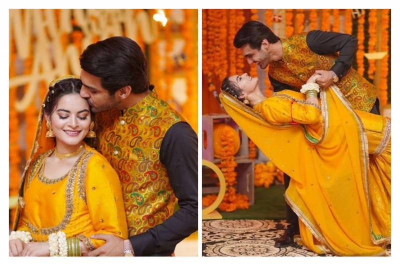 Minal Khan and Ahsan Mohsin's kissing video draws public backlash