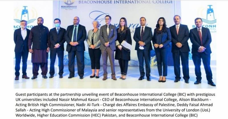 Beaconhouse International College partners with prestigious UK universities