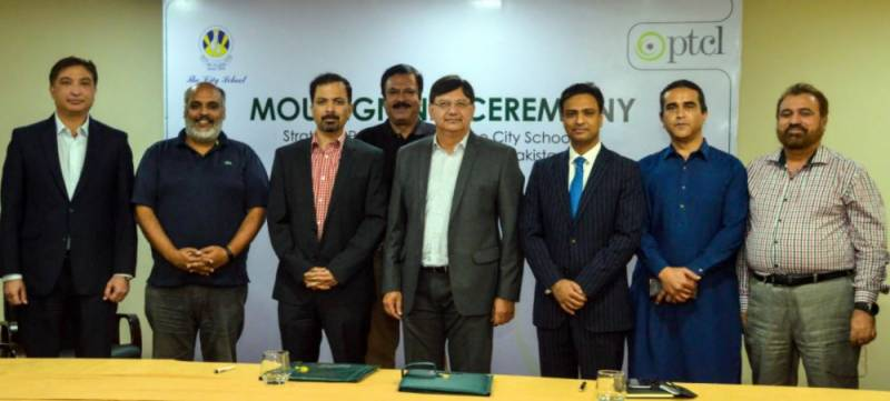 PTCL signs MoU with The City School for providing premium ICT services